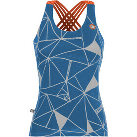 E9 Noa 19 Tank Women with integrated Bra cobalt blue